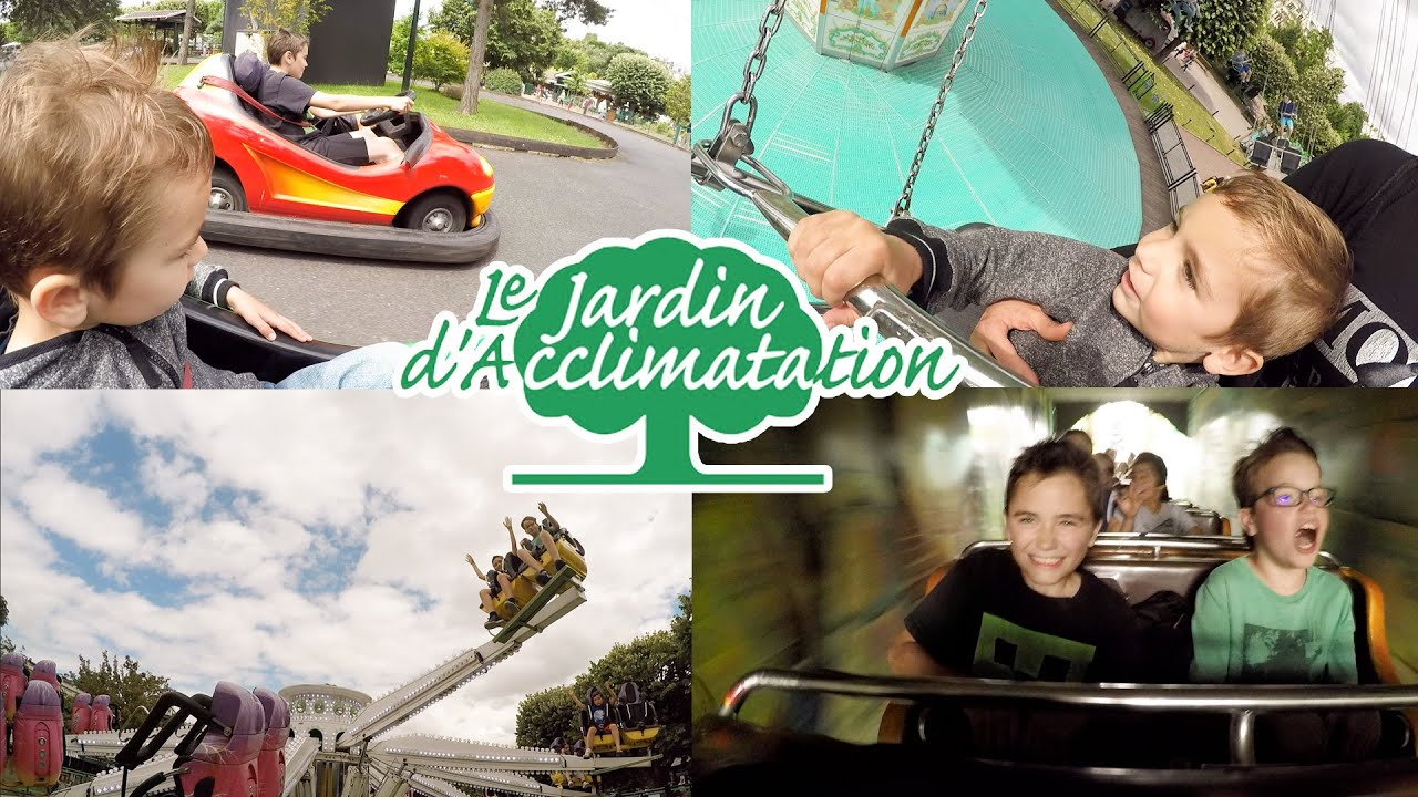 Vlog man ges attractions au jardin d 39 acclimatation for Au jardin d acclimatation