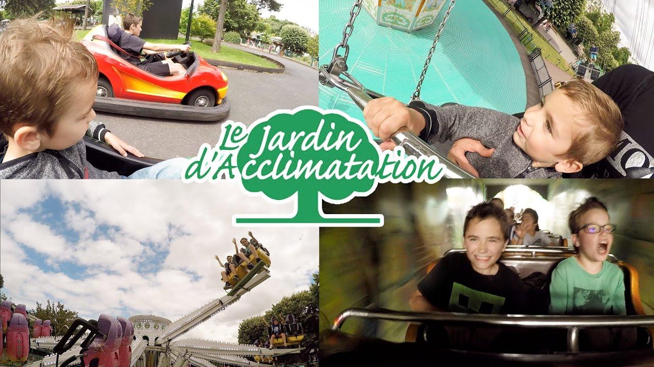VLOG Man¨ges & Attractions au Jardin d Acclimatation  Paris
