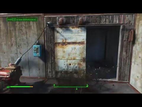 Fallout 4 quick tips 1 how to place powered door & Fallout 4 quick tips 1 how to place powered door - YouTube Pezcame.Com
