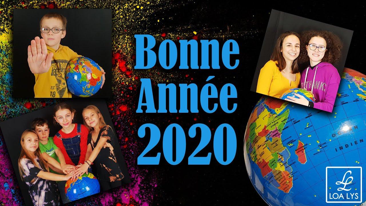 carte virtuelle danse avec photo BONNE ANNÉE 2020   Carte de vœux virtuelle   En 2020, danse avec
