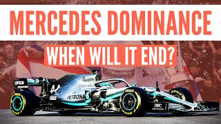 When will the Mercedes F1 dominance end?