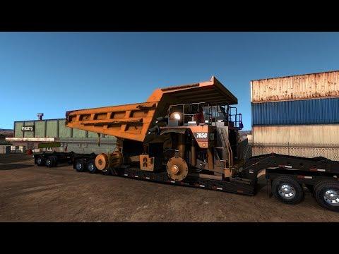 American Truck Simulator  VERY LARGE 785C Caterpillar Mining Truck (Harven)