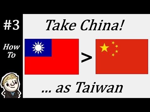 HoI4 - Modern Day - Take China as Taiwan - Part 3