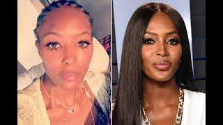 'bare It All!' Naomi Campbell Shares Rare Photo Of Her Natural Hair Worn In Cornrow Braids - 247 New