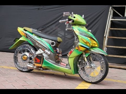 Ragam Motor Unik Modifikasi Motor Vario 110