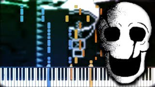 D.N.A    Revenge: The Unseen Ending/Switchtale    Synthesia Piano Tutorial
