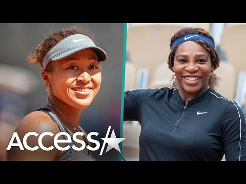 Naomi Osaka Gets Support From Serena Williams & More