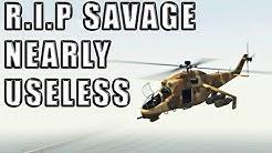 Savage Vs Oppressor MK2, Chernobog, & Hunter After Hitbox Patch   Gta 5 Online - Casino DLC