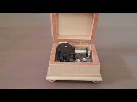 Davy Jones Theme music box