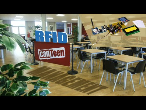 Canteen and Cafeteria Management System using RFID