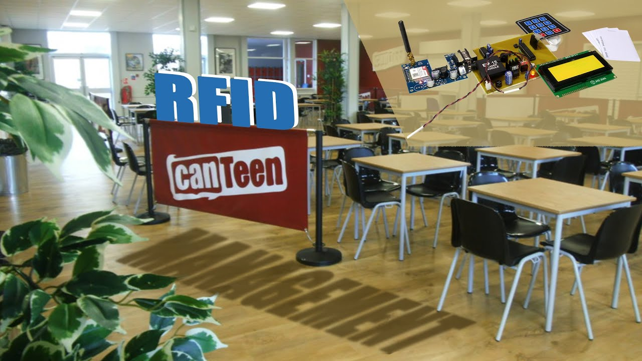 RFID Canteen Management System