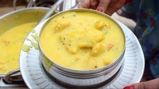 यूपी स्टाइल देशी दही-बेसन की कढ़ी बनाने की विधि। UP Style Deliciou  Kadhi Recipe