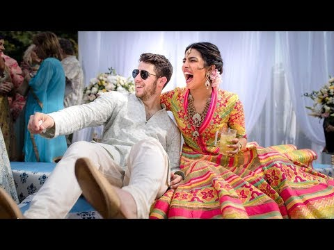 First Pics of Priyanka Chopra & Nick Jonas WEDDING Sangeet & Mehendi Ceremony From Jodhpur Palace