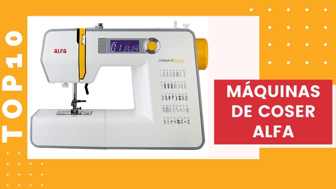 TOP 10LAS MEJORES MÁQUINAS DE COSER DE ALFA-como usar una