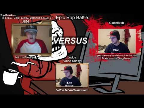 [300 Followers] Epic Rap Battle: ClubzBreh VS JB98 (AKA Blessingz)