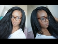 CROCHET BRAIDS WITH KANEKALON HAIR | INVISIBLE KNOT