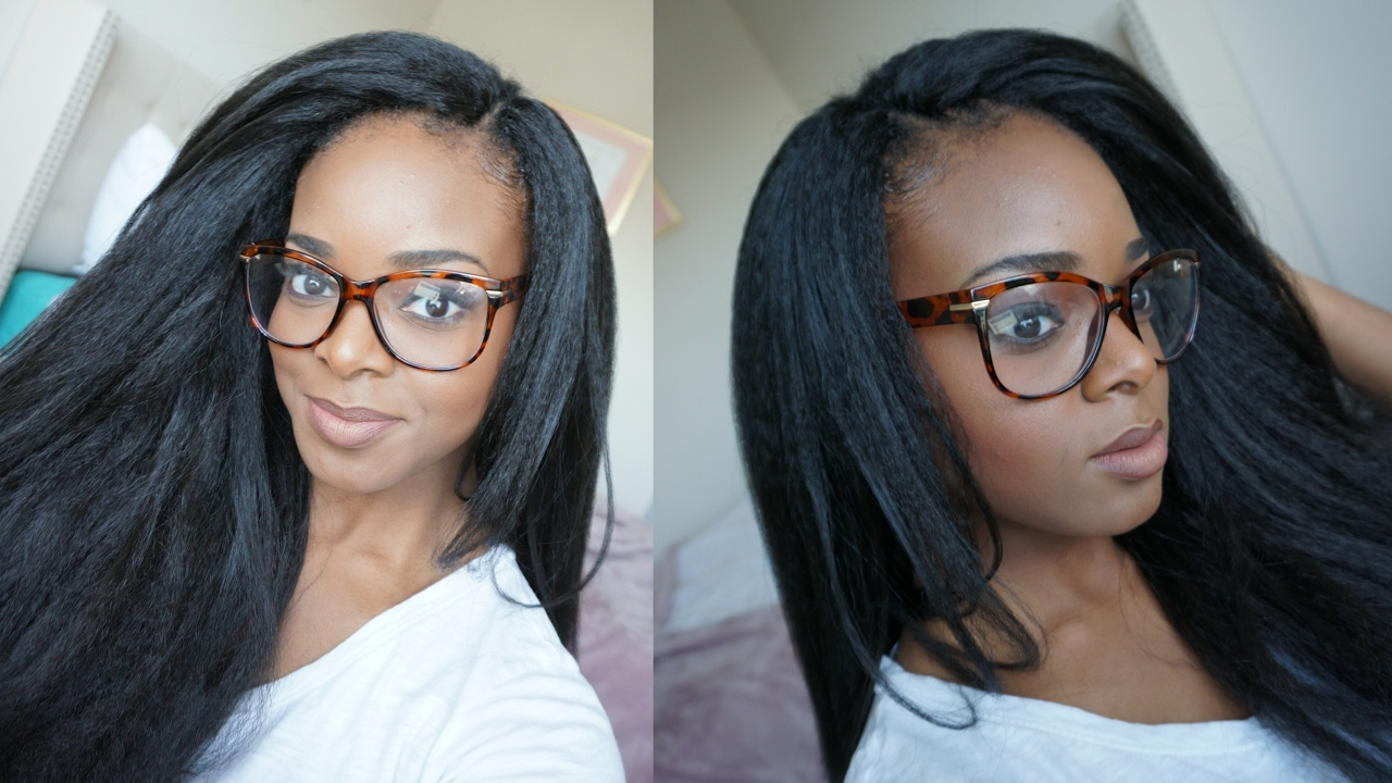 CROCHET BRAIDS WITH KANEKALON HAIR | INVISIBLE KNOT - YouTube