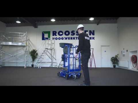 Download Microhoogwerker Type 3507M Uitlegvideo   Roossien Hoogwerktechniek