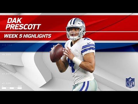 Dak Prescott Pulls Off 4 TD Day vs. Green Bay! | Packers vs. Cowboys | Wk 5 Player Highlights