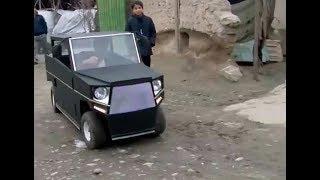 пацан из Таджикистана создал четкий МИНИ-АВТОМОБИЛЬ своими руками