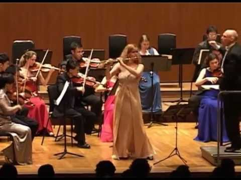 Faure Fantaisie for Flute - Sharon Bezaly & City Chamber Orchestra of Hong Kong