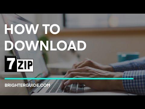 Herunterladen von 7-Zip unter Windows 10/7 / 8.1 - Schritt-für-Schritt-Anleitung