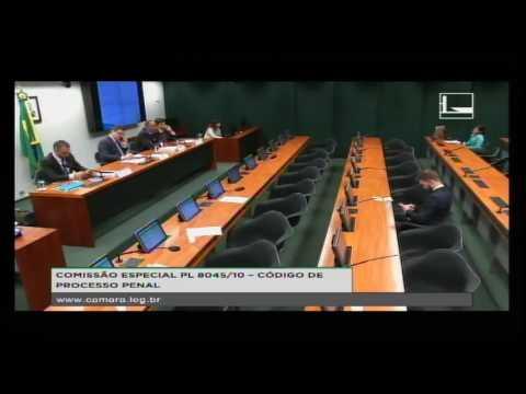 PL 8045/10 - CÓDIGO DE PROCESSO PENAL - Audiência Pública - 08/11/2016 - 14:58