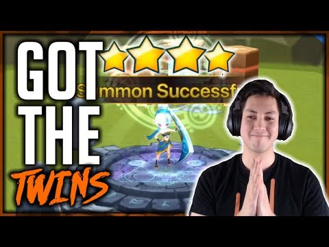WE GOT THE BEST TWINS! | Summoners War Summoning Session