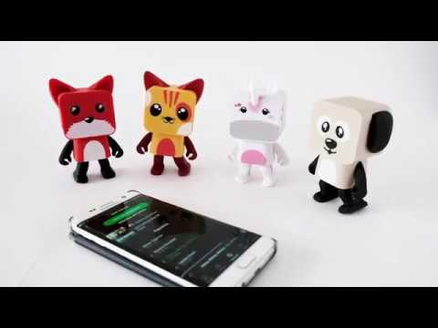 Tura MOB | Dancing Wireless Animals speaker