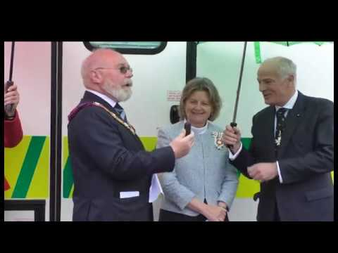 St Johns Ambulance Receives a Generously Donated Treatment Centre