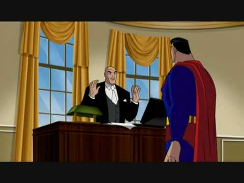 Justice League Vs President Lex
