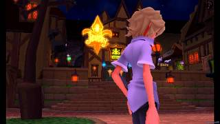Kingdom Hearts 3D: Dream Drop Distance English - Part 10 [Traverse Town 2nd Visit]
