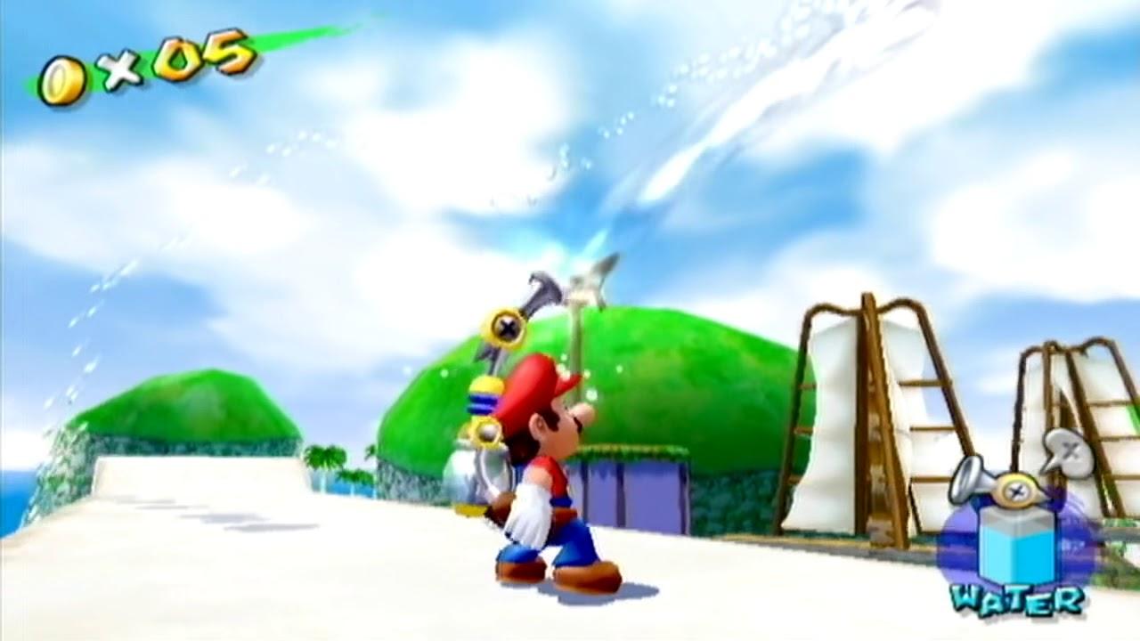 Nintendont - Super Mario Sunshine in 60FPS