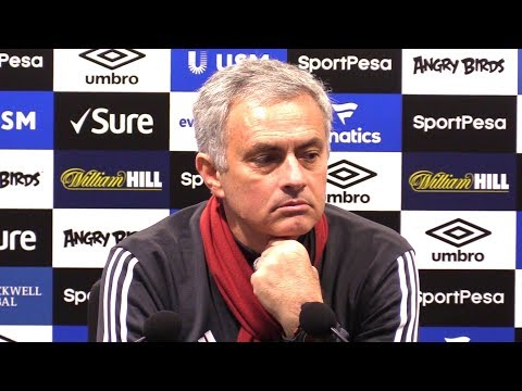 Everton 0-2 Manchester United - Jose Mourinho Post Match Press Conference - Hits Back At Scholes