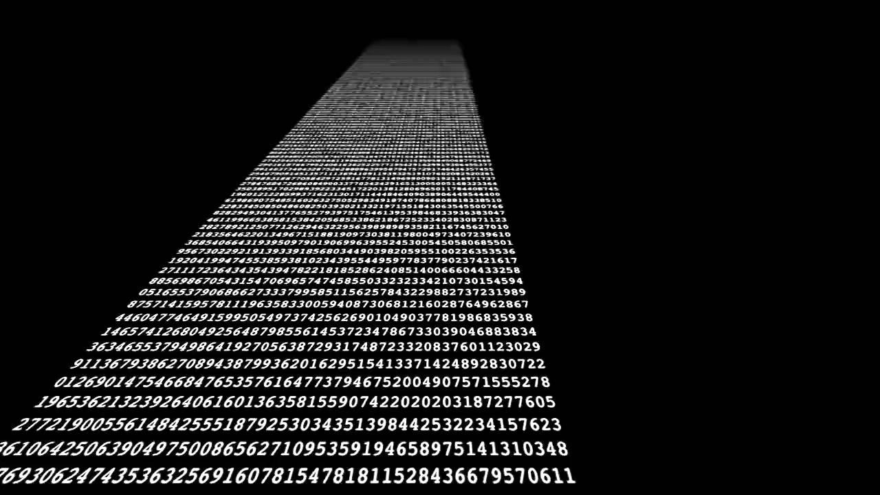 Pi to one MILLION decimal places 31415926535897932384626433832795028841971693993751058209749445923078164062862089986280348253421170679