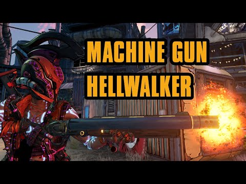 So I turned Hellwalker into a Machine gun... IT'S INSANE! | Borderlands 3 |