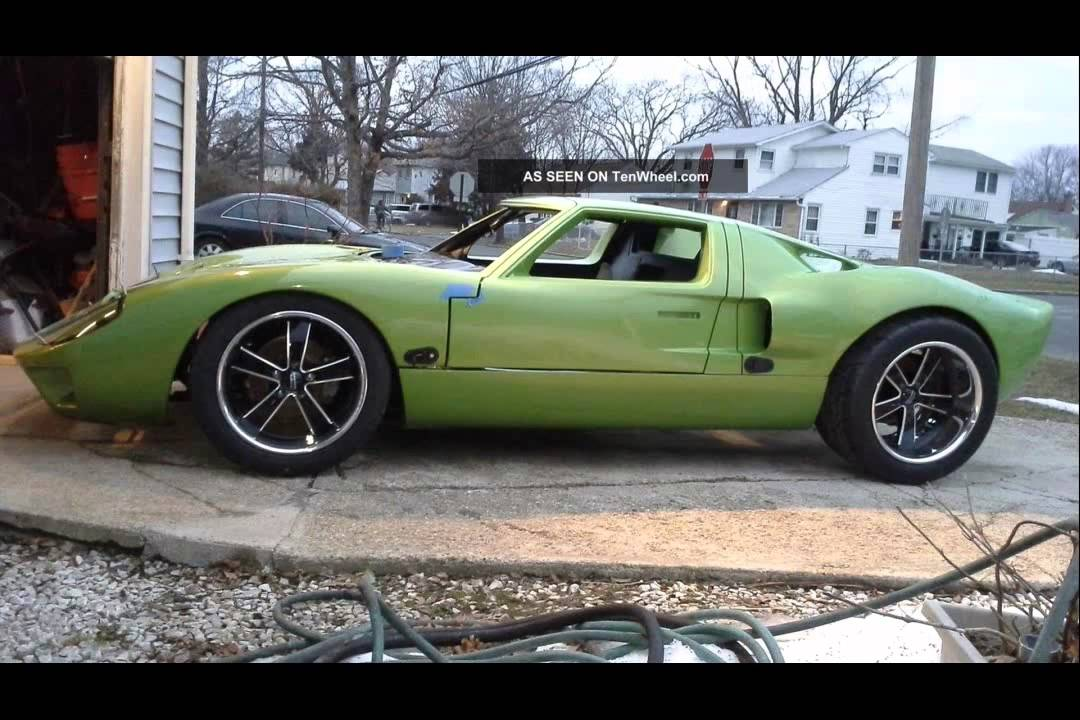 ford gt 40 replica - YouTube