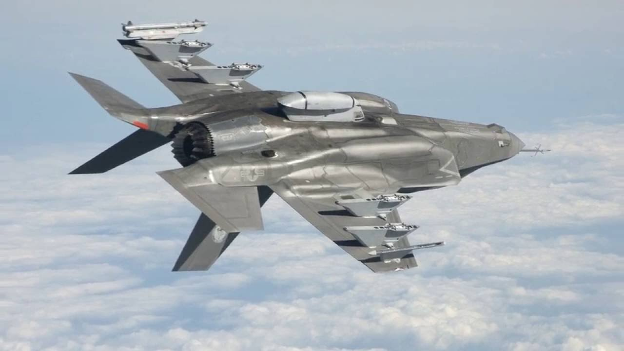US F 35B Mini Aircraft Top speed Top Range High attack - YouTube