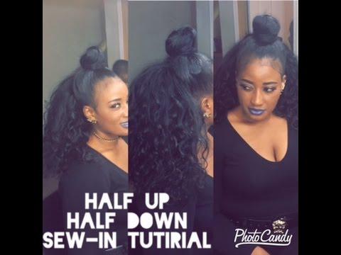 sew-in tutorial