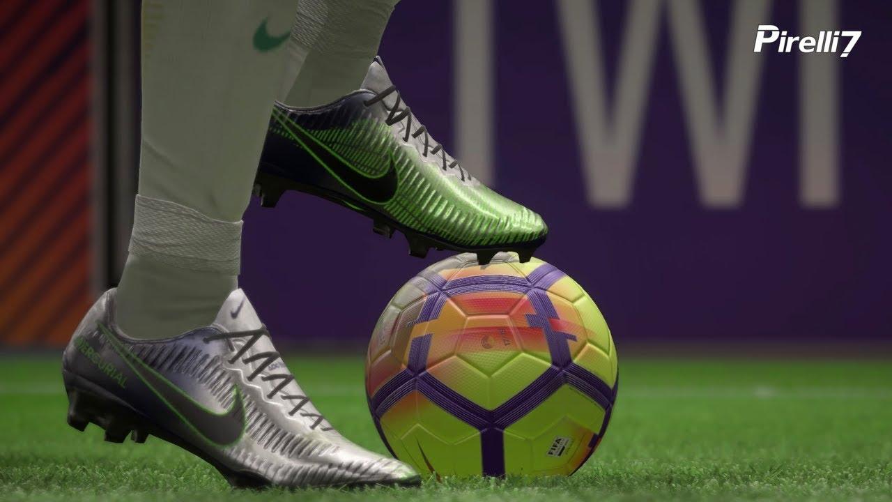 FIFA 18 New Boots: NEYMAR JR. Goals & Skills 2018 |Nike Mercurial Puro  Fenomeno| by Pirelli7