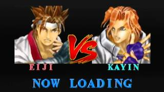 Battle Arena Toshinden (1995) Sony PlayStation 1 (PS1) Intro & Gameplay