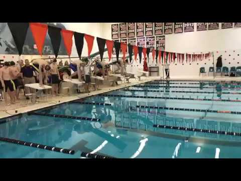 DQ Record Breaking 200 Freestyle Relay at Flint Metro League