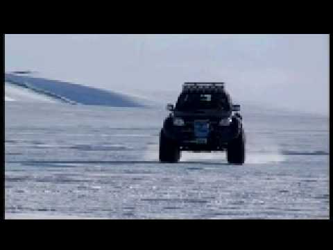 Toyota Hilux Conquers  the South Pole