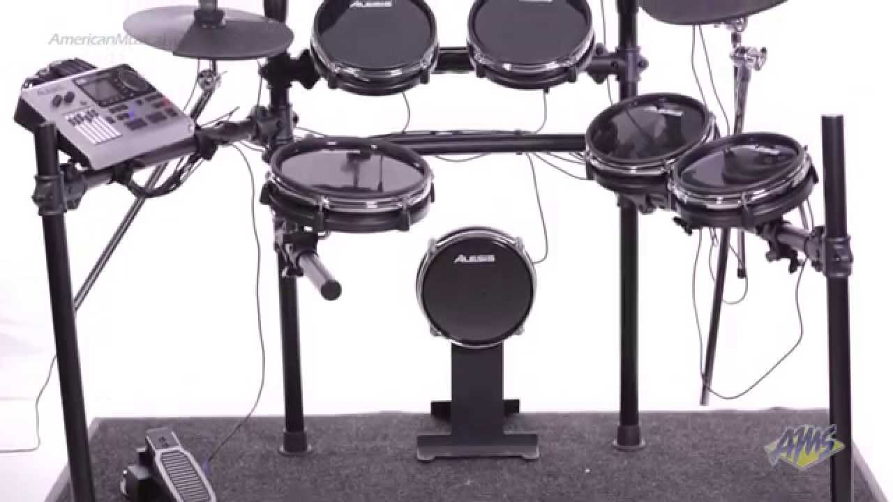 alesis dm10 studio kit electronic drum set alesis dm10 youtube. Black Bedroom Furniture Sets. Home Design Ideas