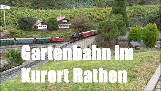 Die Gartenbahn im Kurort Rathen 2014