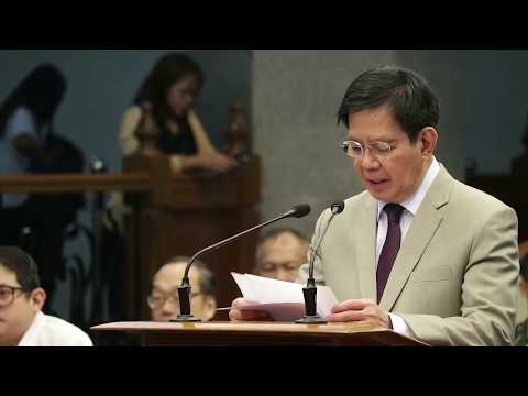 Sponsorship speech at the Commission on Appointments, Sept. 20, 2017