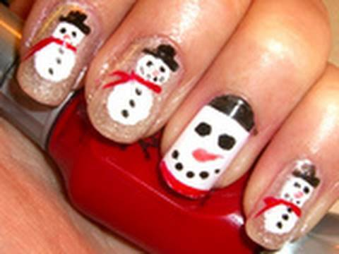 Holiday nail design ittery snowmen youtube holiday nail design ittery snowmen prinsesfo Images