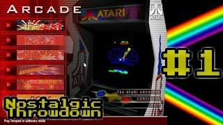 (2K SUB SPECIAL!) Nostalgic Throwdown - Episode 1: Atari Arcade Hits