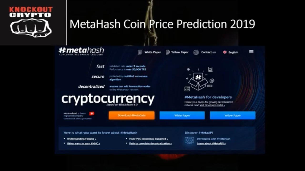 metahash coin price