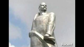 Tajik city topples huge Vladimir Lenin statue; Y 26 years after the end of USSR?!!